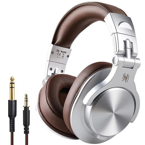 Oneodio A70 Bluetooth Sharing Technology Casque Sans Fil + Cable 3,5Mm Jack Br